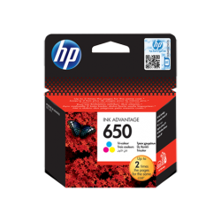 HP 650 Tri-colour Ink Cartridge